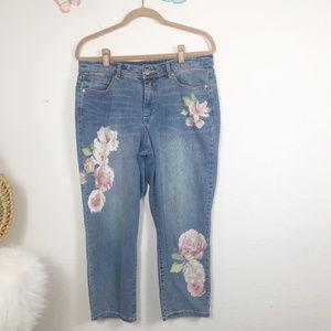 Bandolino Jeans Size 12 Capri